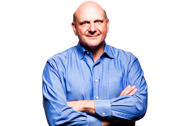 Steve Ballmer - fotografia (Photo courtesy of The Verge)